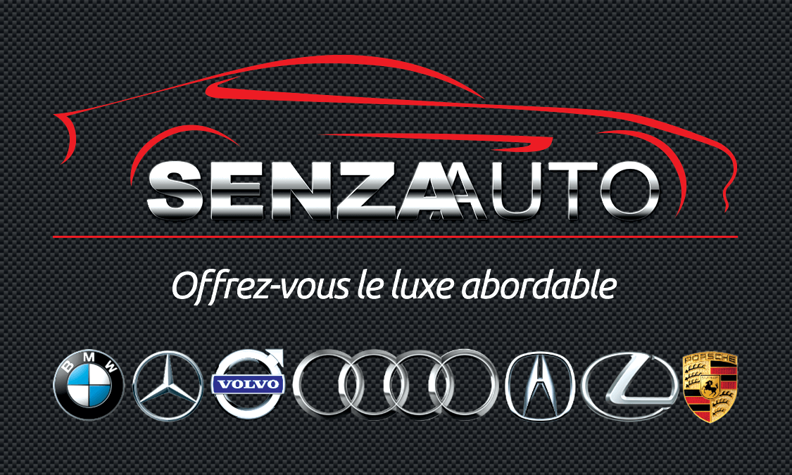 Senza Auto Business card
